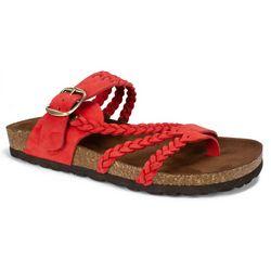White Mountain Womens Hayleigh Thong Sandals
