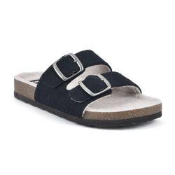 White Mountain Womens Helga Slip On Sandals