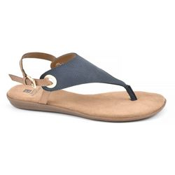 White Mountain Womens London Thong Sandals