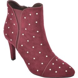 Rialto Womens Chanted Studded Ankle Boots