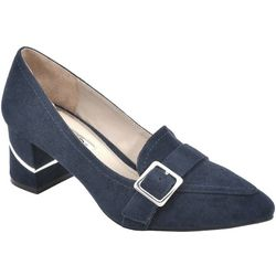 Rialto Womens Foremost Heeled Loafers