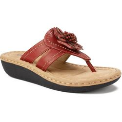 Cliffs by White Mountain Womens Carnation Sandals