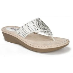 Cliffs by White Mountain Womens Cienna Thong Sandals