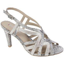 Rialto Womens Randie Snake Strappy Dress Sandals