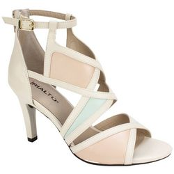 Rialto Womens Ria Colorblock Dress Heels