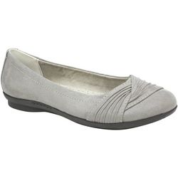 Cliffs by White Mountain Womens Hilt Textile Flats