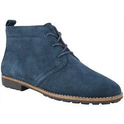 Womans Auburn Lace Up Ankle Boots
