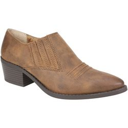 White Mountain Womens Carroll Ankle Booties