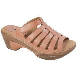Rialto Womens Valencia Slip-On Sandals