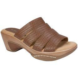 Rialto Womens Valora Slip-On Sandals