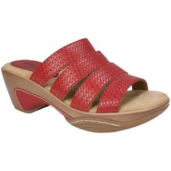 Rialto Womens Valora Slip-On Sandals