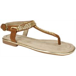 Rialto Womens Zora Embellished Sandals