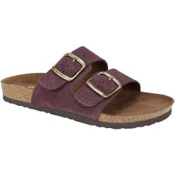 White Mountain Womens Helga Buckle Sandals