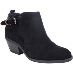 White Mountain Womens Sadie Buckled Ankle Boots