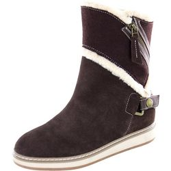 White Mountain Womens Teague Fleece Lined Boots
