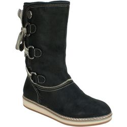 White Mountain Womens Tivia Lace Up Boots