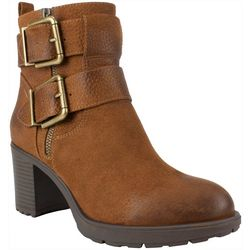 White Mountain Womens Gilmour Buckle Boots