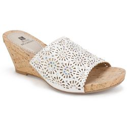 White Mountain Womens Adira Slide Sandals