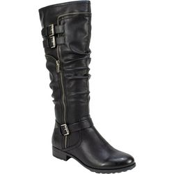 White Mountain Womans Ranger Wide Calf Tall Boots