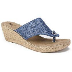 White Mountain Womens Beachball Thong Sandals