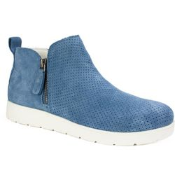 White Mountain Womens Beaumont Zippered Booties