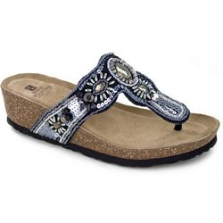 White Mountain Womens Bountiful Thong Sandals