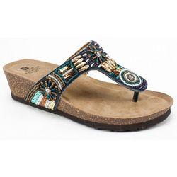 White Mountain Womens Brilliant Thong Sandals