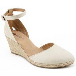 White Mountain Womens Cisco Espadrille Shoes