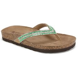 White Mountain Womens Hadyn Flip Flops