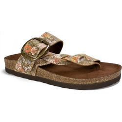 White Mountain Womens Harvey Braided Sandals