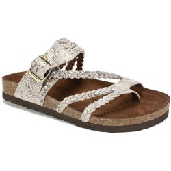 White Mountain Womens Hayleigh Braided Sandals