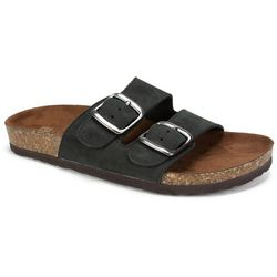 White Mountain Womens  Buckle Sandals
