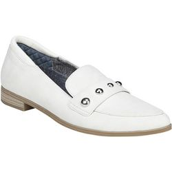 Dr. Scholl's Womens Leo Stud Loafers