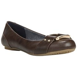 Dr. Scholl's Womens Frankie Savory Flats