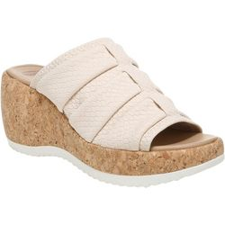Dr. Scholl's Womens Praise Up Wedge Sandals