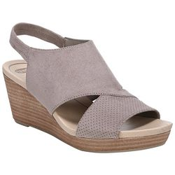 Dr. Scholl's Womens Brita Wedge Sandals