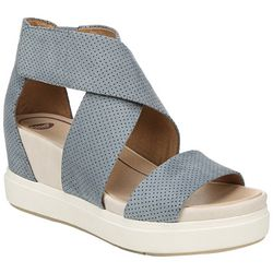 Dr. Scholl's Womens Sheena Wedge Sandals