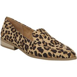 Dr. Scholl's Womens Astaire Leopard Loafers