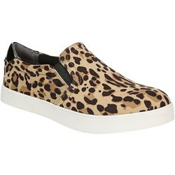 Dr. Scholl's Womens Madison Leopard Slip On Shoes