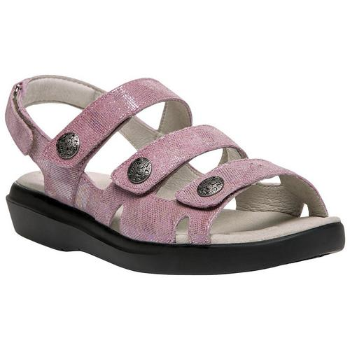 64adf5f36c9d Propet Womens Bahama Foil Sandals