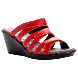Propet Womens Lexie Wedge Sandals