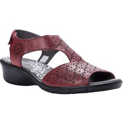 Propet USA Womens Winnie Headed Wedge Sandal