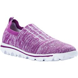 Propet USA Womens TravelActiv Stretch Sneakers