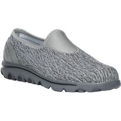 Propet USA Womens Heather Slip On TravelActiv Shoe