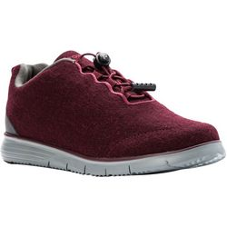 Propet USA Womens TravelFit Prestige Flannel Shoes