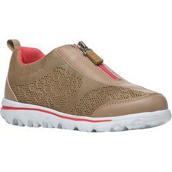 Propet USA Womens TraveActiv Zip Shoes