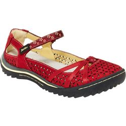 Jambu Womens Cherry Blossom Mary Jane Shoes