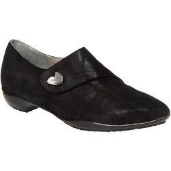 Jambu Womens Celeste Shimmer Suede Loafers