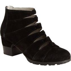Jambu Womens Samantha Strappy Ankle Boots