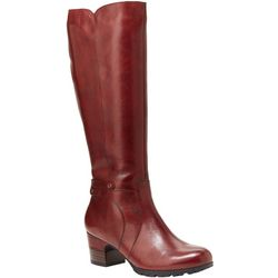 Jambu Womens Chai Tall Water Resistant Leather Boots